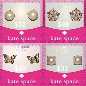 Take 40% Off 🎉15 Kate Spade ♠️ Earrings Available